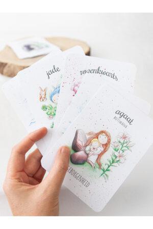 set met 5 Mooqi ansichtkaarten naar keuze