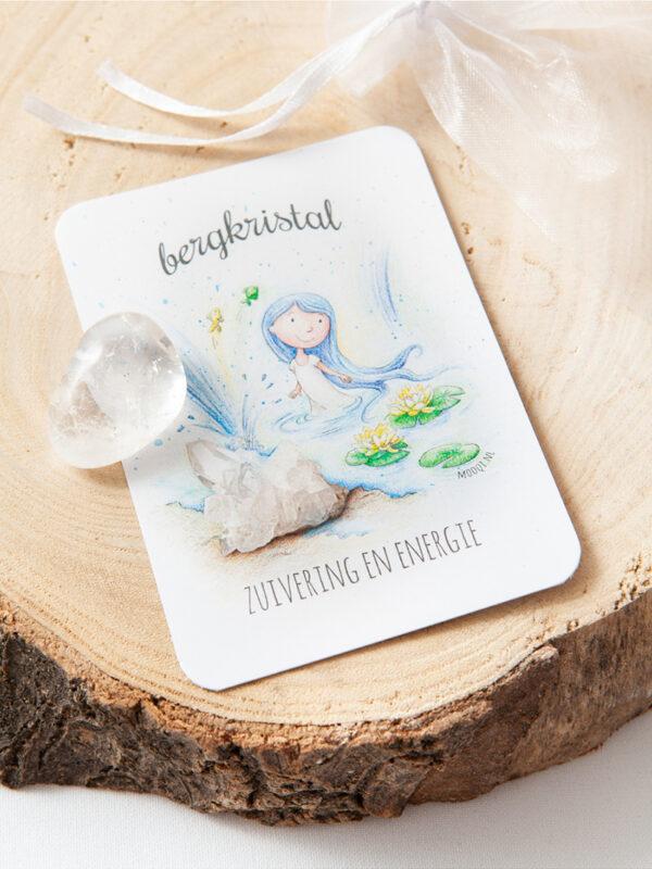 edelsteen pakketje bergkristal