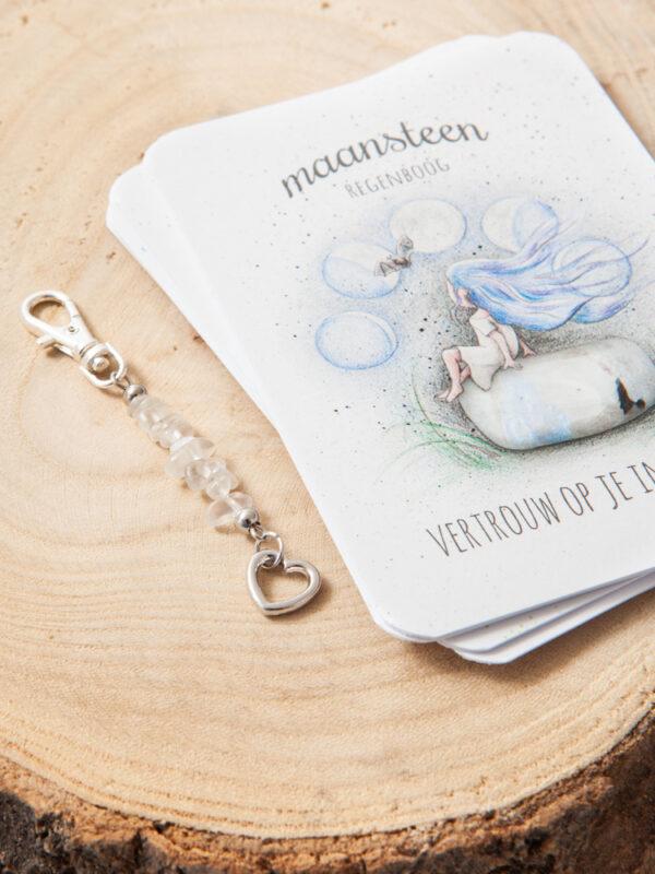 Mooqi edelsteen hangers